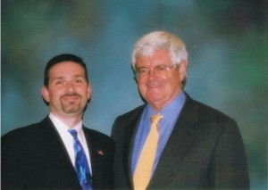 James Woosley and Newt Gingrich (2007)